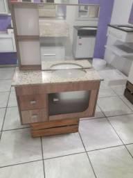 Gabinete de banheiro completo