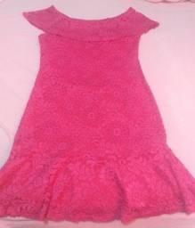 Vestido Novo para festa cor Rosa.