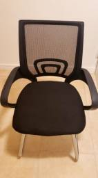 Cadeira Tipo Escritório Fixa