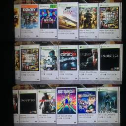 Xbox 360 Super Slim, HD interno 320gb com 60 jogos originais