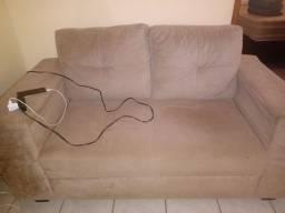 Conjunto de sofá não retrátil semi novo