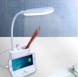 Luminária Carregador Inteligente Promoção