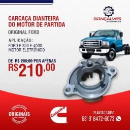 CARCAÇA DIANTEIRA DO MOTOR DIANTEIRA F-350/F-4000  MOTOR ELÉTRONICO