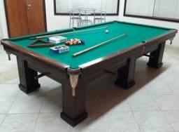 Mesa De Sinuca Profissional, Só Snooker Em Madeira Maciça