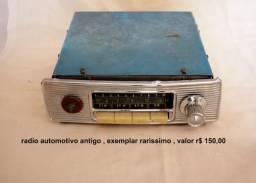 Auto radio antigo