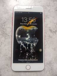 iPhone 7 Plus Red 256gb Impecável