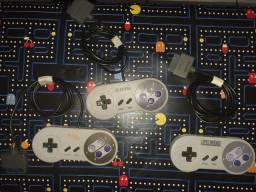 3 Controles SNES (Leia o anúncio)