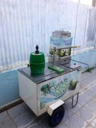 Vendo Carrinho de coco/ carrinho para lanches