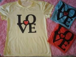 Camisas femininas adultas