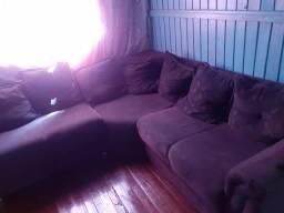 Bicama com dois colchões e sofá de canto