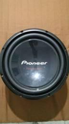 Sub Pioneer Cara preta de 12 polegadas 400 rms
