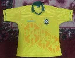 Camisa Original Umbro do Brasil Seleção Brasileira da Copa do Mundo de 1994 Tetra