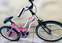 Vendo bicicleta Caloi alumínio