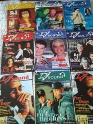 Revistas DJ Sound anos 90 - preço unitário