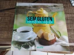 Livro de receitas sem gluten