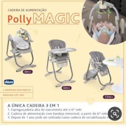 Cadeira de Alimentação Chicco Polly Magic