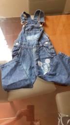 Vendo macacão jeans infantil