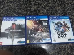 Vendo jogos PSVR PS4 Realidade Virtual