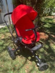 Carrinho de bebê Quinni, Bebê Conforto Quinni e cadeirinha para carro até 25kg