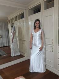 Vestido de noiva em Cetim NOVO