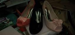 Lote c 16 sapatos novos