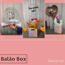 Balão Box Caixa Surpresa Presente Personalizado
