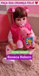 Boneca Reborn / TODA SE SILICONE - Pode dar Banho