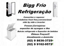 *Aceitamos cartões:Consertos em Geladeiras,Freezer  e outros