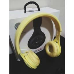 Headphone Y08 Over Ear Music (Amarelo)