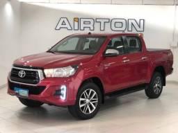 Toyota Hilux SRV 2.7 Flex 4X4 2019 Bordo Automática