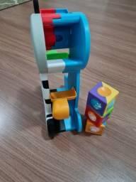 vendo brinquedo educativo da zebra- blocos de montar