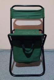 Cadeira Dobrável Praia e Camping com BAG