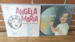 Dois discos da Ângela Maria