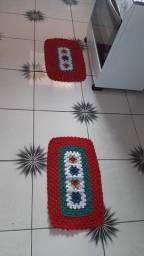 Jogo de tapete 2 peças