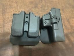 Coldre para pistolas Glock