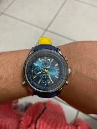 Relógio citizen blue angels praticamente zero