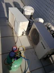 Instalação de ar condicionado Desinstalação em diversas marcas