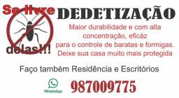 Dedetização residencial em promoção!!