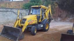 Título do anúncio: Retro Escavadeira Randon RK406 Ano 2011 tração 4x4 com 5.300 horas