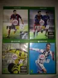 Coleção FIFA 15, 16, 17e 19 ( Venda/Troca)