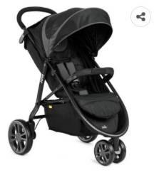 Carrinho de bebê Joie Litetrax com 3 rodas - Várias funções - Perfeito