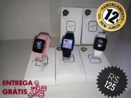 Smartwatch T900 + Pulseira de Nylon (brinde)
