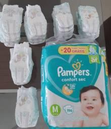 249 Fraldas Pampers Confort Sec M