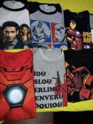 Camisas Homem de Ferro