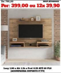 Decreto de Maringa - Painel de TV até 60 Plg Grande com Nicho - Embalado