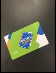 Alugo cartão metro passe