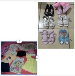 Vendo lotinho de roupas e calçados