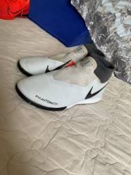 Chuteira Nike phanton futsal 40