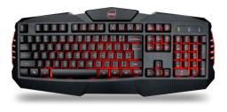 Kit Gamer 4 Em 1 Dazz Teclado Mouse Mousepad Fone Led - Loja Natan Abreu