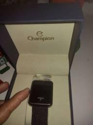 Relógio Champions original com nota fiscal novinho só 150